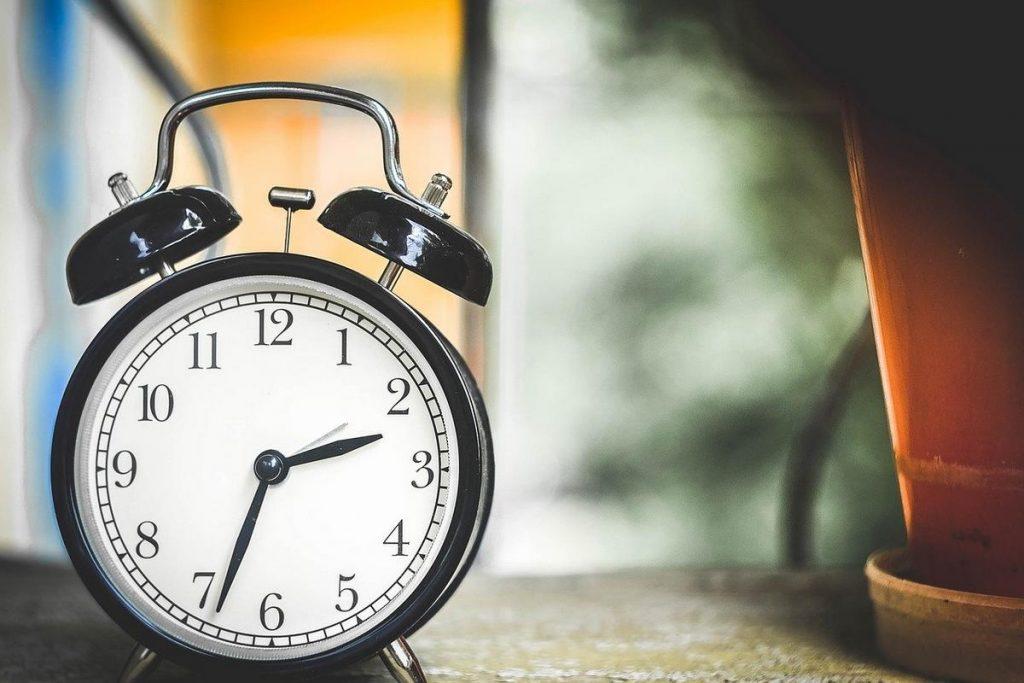 horloge, temps, simplicité