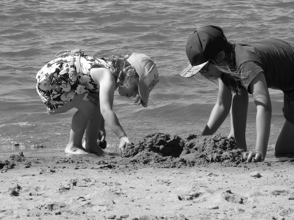 vacances famille plage