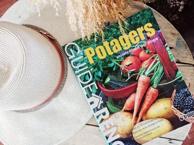 livre guide potager jardinage légumes